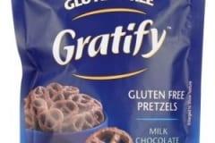 GRATIFY Pretzels Milk Chocolate Covered Twists Gluten Free