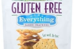 MILTONS Gluten Free Baked Crackers Everything
