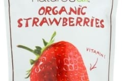 NATIERRA NATURES ALL Freeze Dried Organic Strawberry