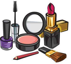 Clip Art of Beauty Products