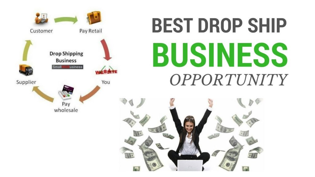 chart illustrating drop shipping business opportunities available