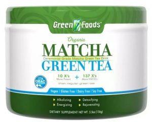 Green Food Matcha Tea