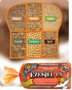 Ezekiel 4:9 bread is an example of a natural frozen bread.