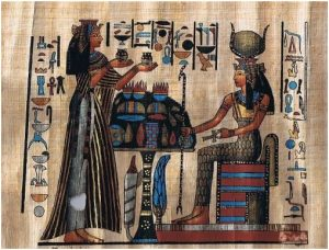 Image Describing Essential Oil Use in Ancient Egypt