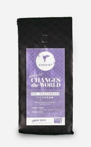 Coexist Coffee's The Peacemaker whole bean coffee.