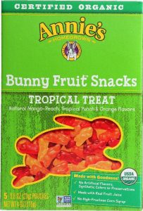 Annie's Organic Bunny Fruit Snacks (Tropical Treat flavors)