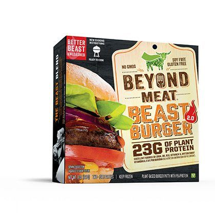 Beyond Meat Beast Burger 2.0