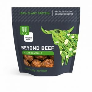 Beyond Meat Beyond Beef Italian Meatballs