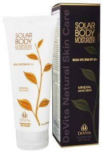 Devita Natural Skin Care Solar Body Moisturizer (SPF 30+)