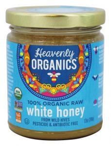 Heavenly Organics raw honey