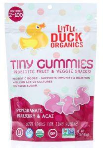 Little Duck Organics Tiny Gummies (Pomegranate, Blueberry and Acai)