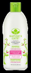 Nature's Gate Awapuhi Ginger and Holy Basil Shampoo