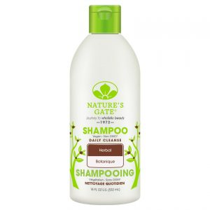 Nature's Gate Daily Cleanse Herbal Shampoo is cruelty free.
