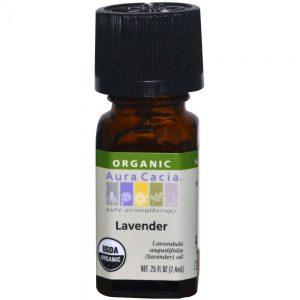Aura Cacia Organic Lavender Essential Oils