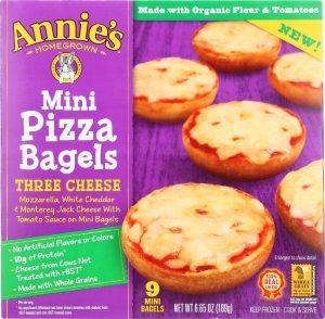 Annie's Mini Pizza Bagels