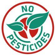 no pesticides stamp