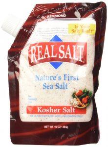 sea salt bag