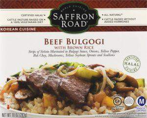 Saffron Road Beef Bulgogi