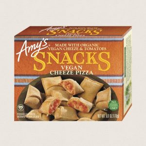 Amy's Vegan Cheeze Pizza Snacks