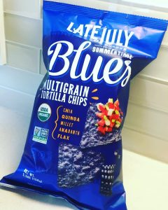 Late July blue corn chips