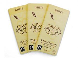 Green and Black's Organic White Chocolate