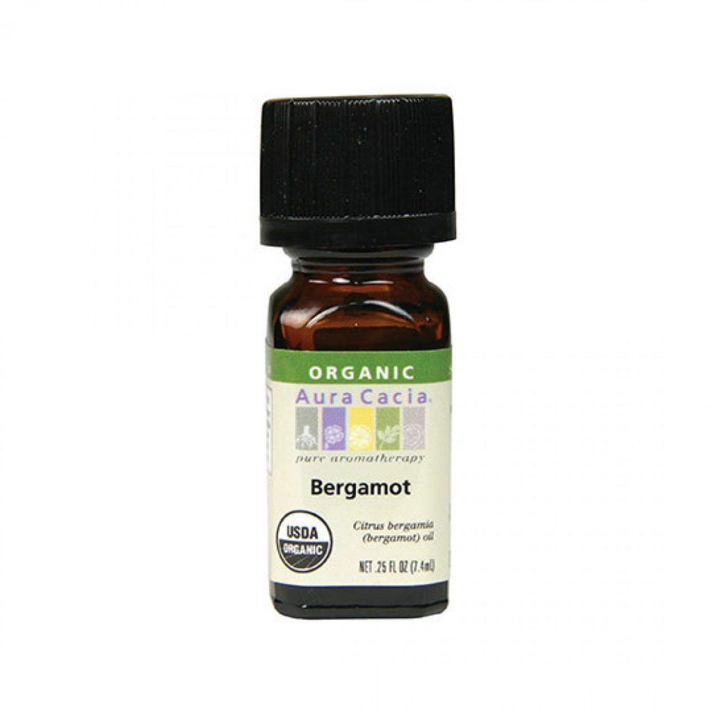 Aura Cacia Organic Bergamot Essential Oil