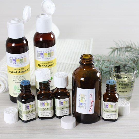 Peppermint Juniper Massage Oil