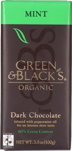 Green and Black's Organic Dark Chocolate with Mint