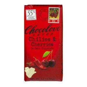 Chocolove Chilies and Cherries in Dark Chocolate