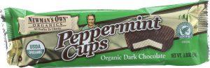 Newman's Own Organic Dark Chocolate Peppermint Cups