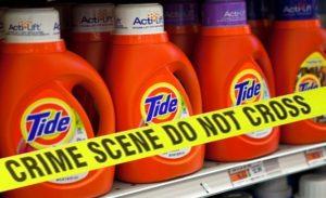 tide crime scene