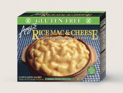 Amy's Frozen Food: Gluten-Free