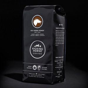 Kicking Horse Coffee 454 Horse Power Dark Roast Whole Bean