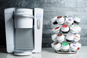 Keurig with carousel of k-sups