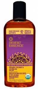 Desert Essence Organic Coconut and Jojoba Oil