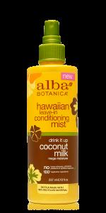 Alba Botanica Coconut Milk Hawaiian Conditioning Mist