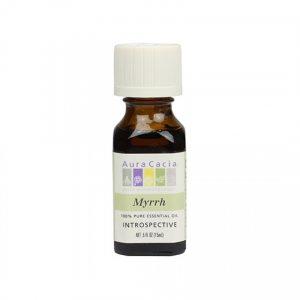 Aura Cacia Myrrh Essential Oil 0.5 fl. oz.