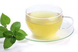 Mint digestive tea