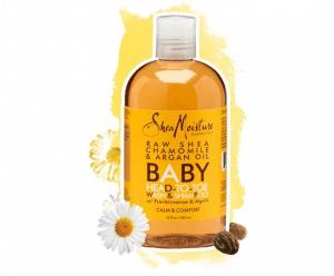 shea moisture baby head to toe wash and shampoo raw shea butter chamomile argan oil