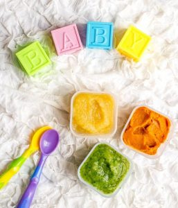 baby food on a table