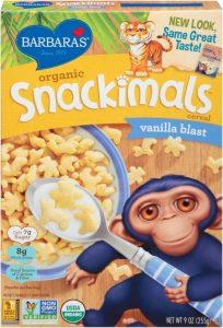 barbaras organic non-gmo breakfast cereal for vegans