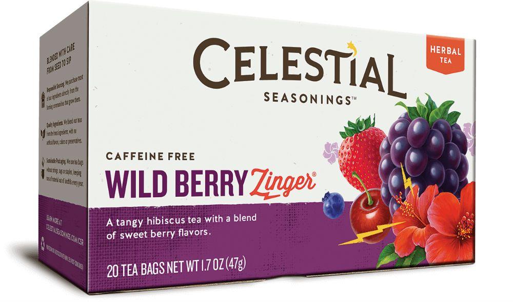 Celestial Seasonings Wild Berry Zinger