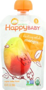 happy baby stage one organic baby food