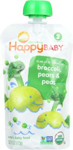 happy baby stage two organic baby food