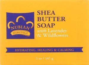 nubian heritage natural shea soap