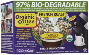 Organic Coffee Co. french roast 12 cup pack