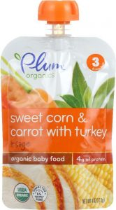 plum organic food for babies