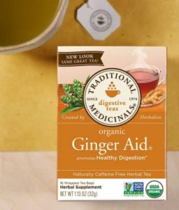 Traditional Medicinals Ginger Aid Tea