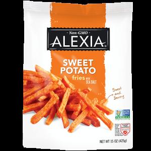 Julienne Sweet Potato Fries with Sea Salt