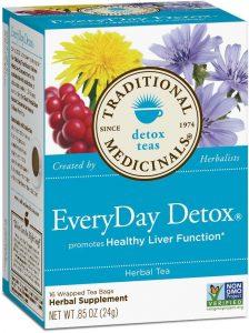 traditional medicinals everyday detox tea